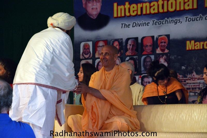 Radhanath Swami Maharaj at Rishikesh