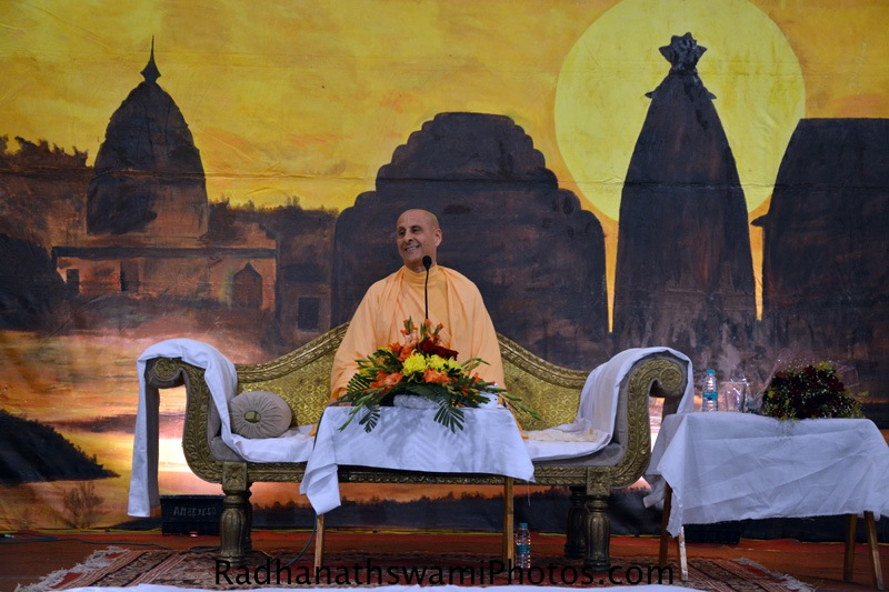 Radhanath Swami at Ranchi