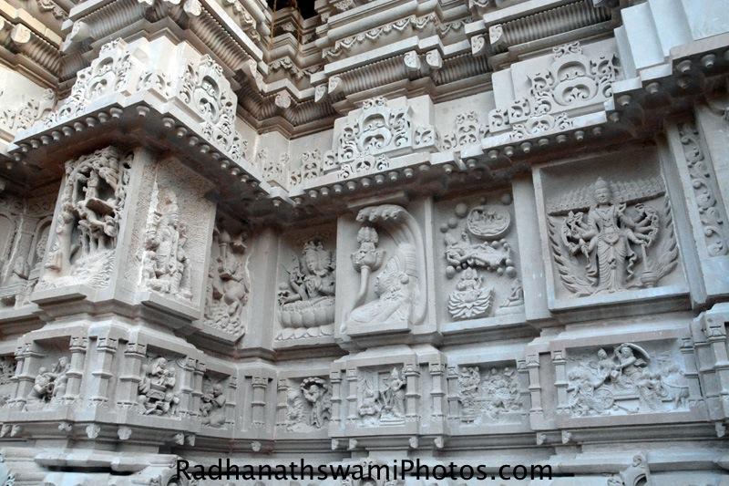 Stone Carving on the walls of Temple