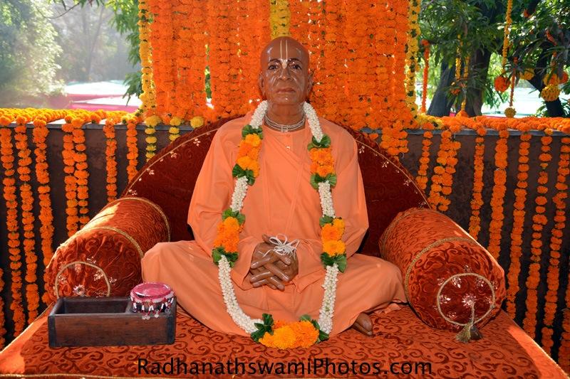Vigraha of Srila Prabhupada at GEV