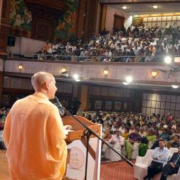 Radhanath Swami at Abhar