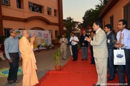 Radhanath Swami at Bhaktivedanta Hospital