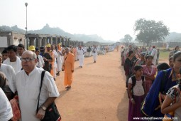 Devotees at Hampi