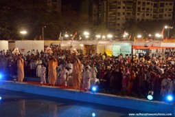 Devotees doing Ganga Arati