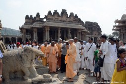 Radhanath Swami at Hampi