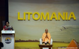 Radhanath Swami at Welingkar institute of Management