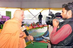 Radhanath Swami interviewed by Press