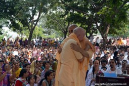 Radhanath Swami with Chandramouli Swami