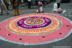 Rangoli for lord