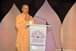 Talk by Radhanath Swami at ghatkopar Rath Yatra