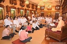 Talk by Radhanath Swami to Hong Kong Business students