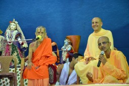 Radhanath swami during udupi yatra