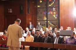 Radhanath Swami speaks at United Nations Interfaith Climate Change Ceremony