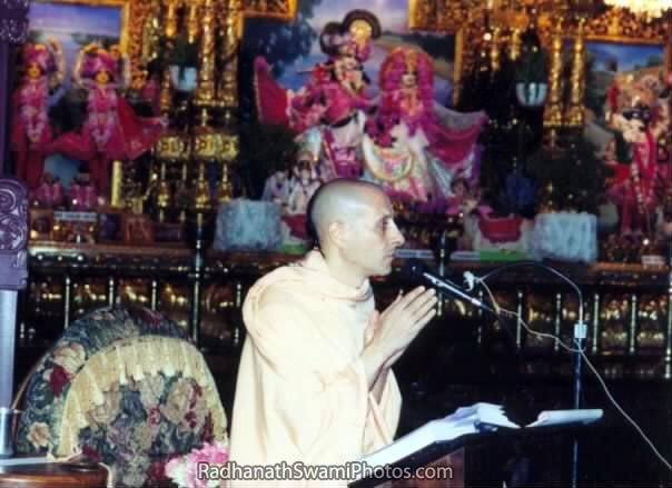 Radhanath Swami As a Mentor
