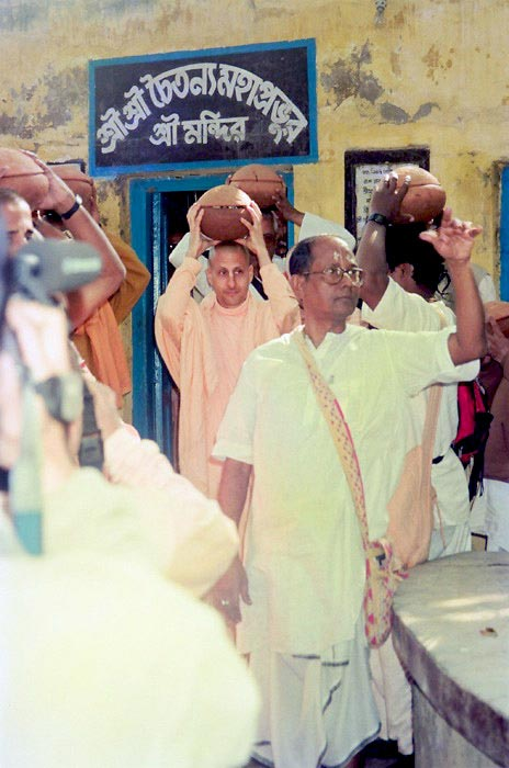 Radhanath Swami during Yatra