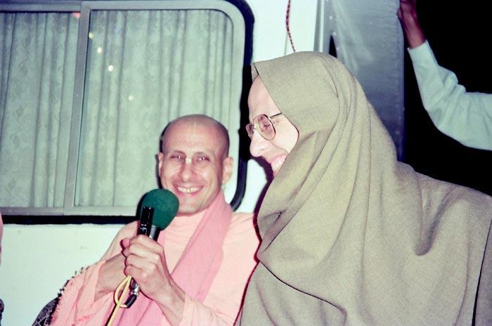 Radhanath Swami and Jayadvaita Swami