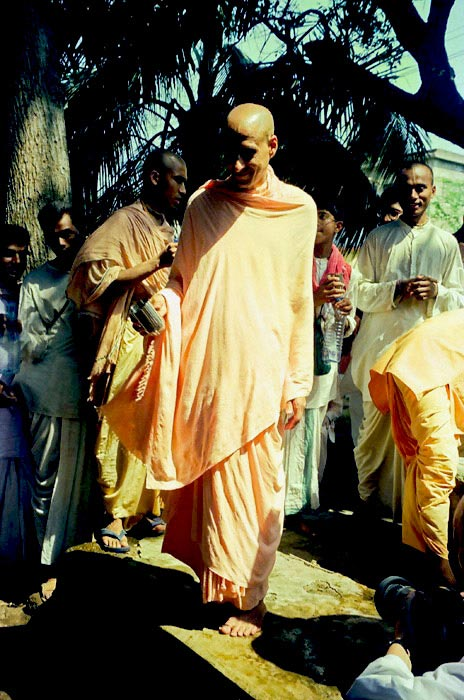Radhanath Swami with Other Devotees