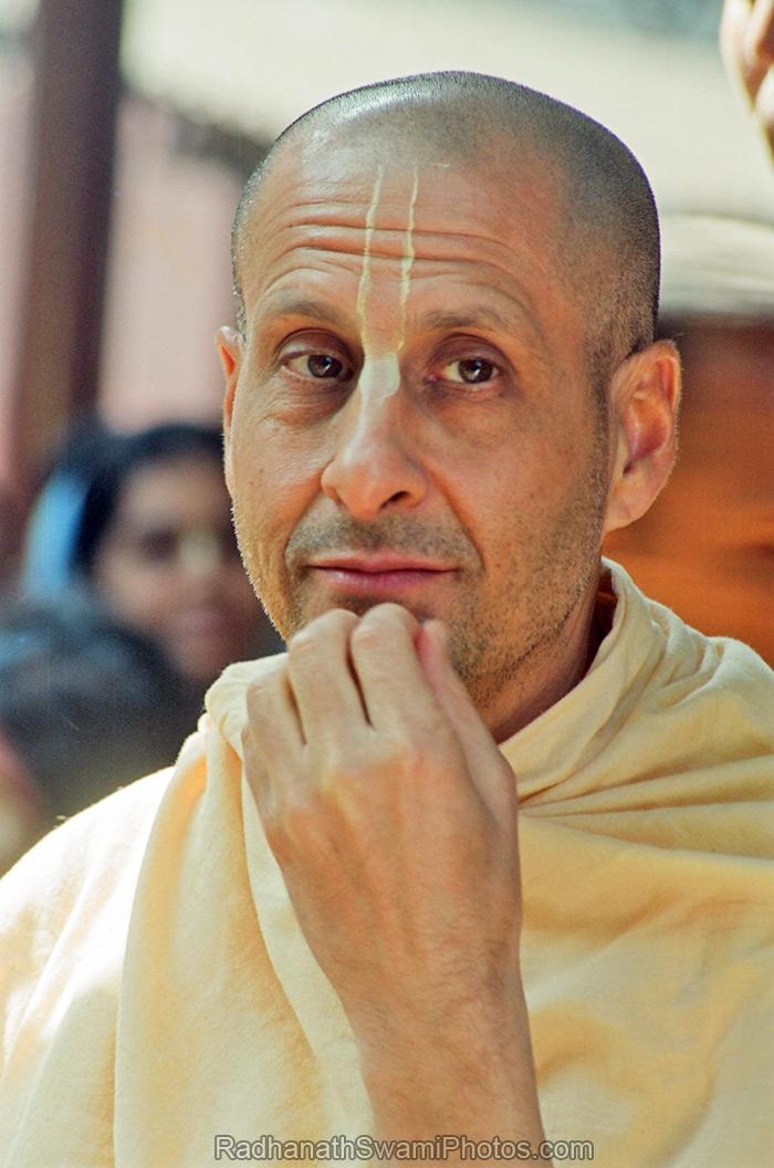 Radhanath Swami Affectionate Glance
