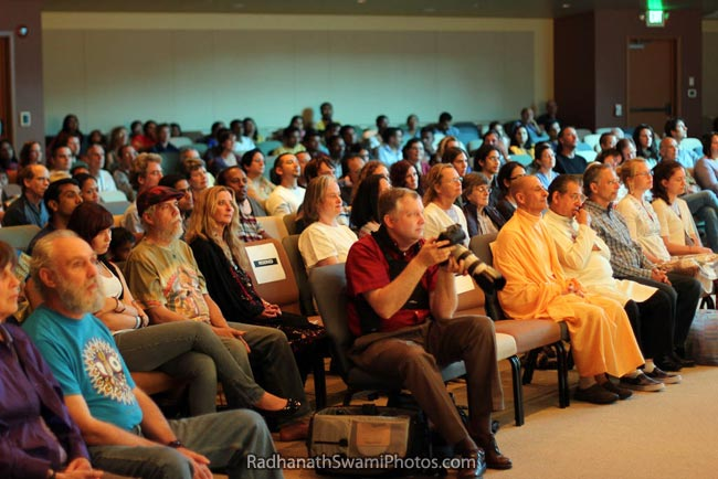 Radhanath Swami At The Dance To The Source Of Love Event