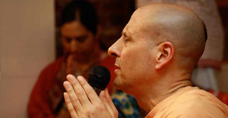 Radhanath Swami Close
