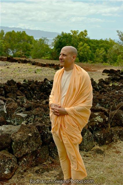 Radhanath Swami In Hawai