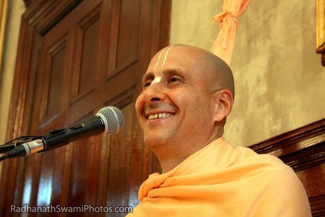 Radhanath Swami Laughing
