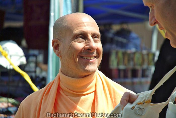 Radhanath Swami Special Moment