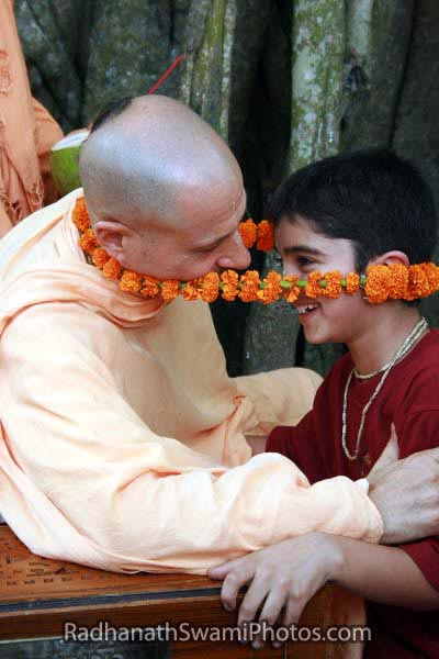 Radhanath Swami Trapped By Love