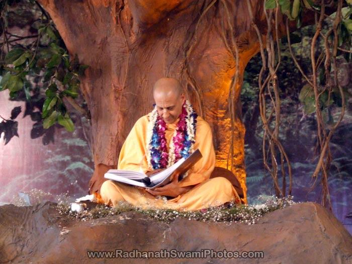 Radhanath Swami Vyaspuja Photo