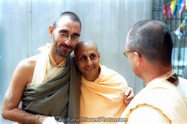 Radhanath Swami With His Godbrothers