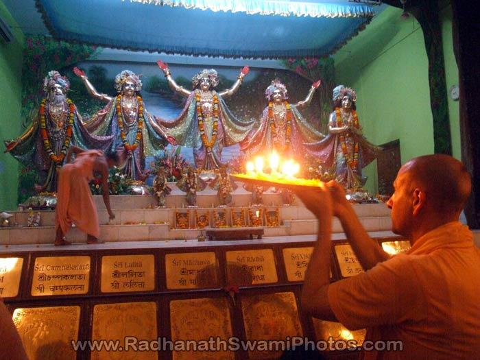 Radhanath Swami at Mayapur