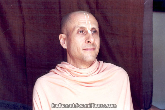 Radhanath Swami's Captivating Gaze
