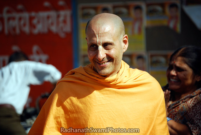 Radhanath Swami's Mesmerizing Smile