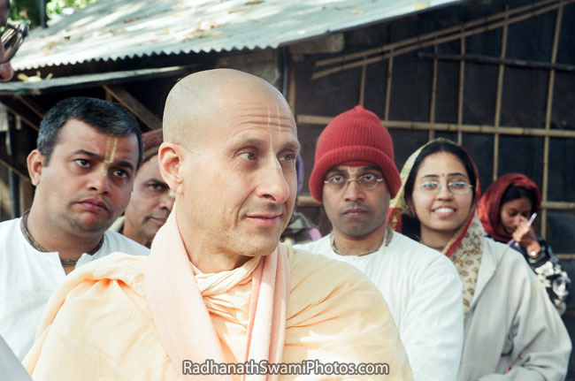 Radhanath Swami's Special Moment