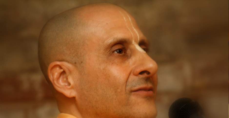 Swami Radhanath Close Up