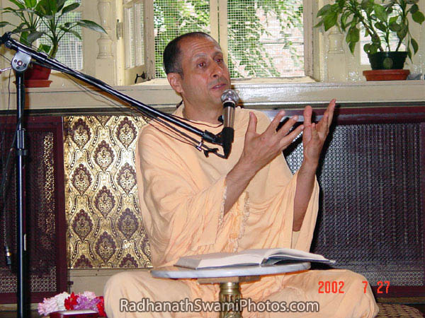 Radhanath Swami Explaining the Subtle Nuanes of Spirituality