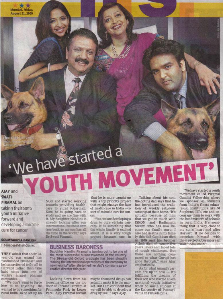 Radhanath Swami in News DNA, Mumbai