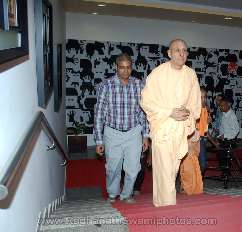 Radhanath Swami's Book Launch at Surat