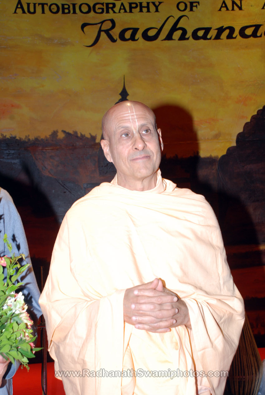 Radhanath Swami at Surat Book Launch