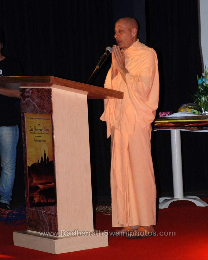 Radhanath Swami's talk at Surat Book Launch