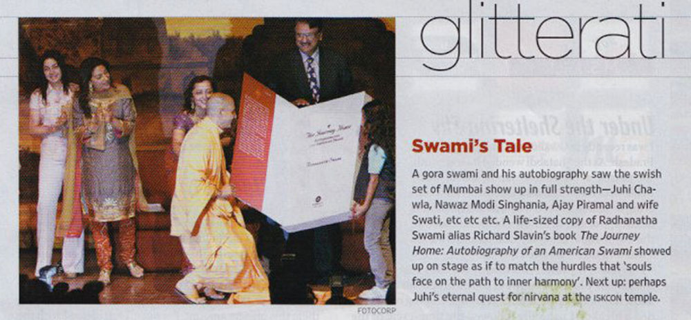 The Journey Home Book Launch in Outlook Magazine, Mumbai