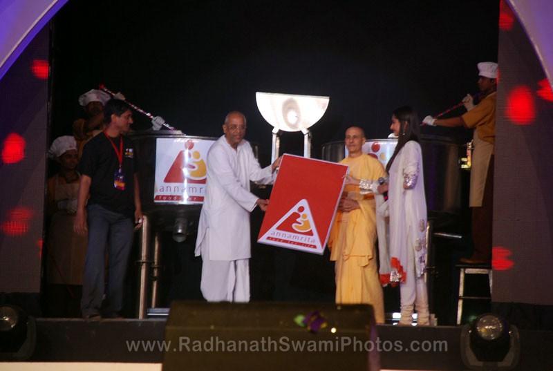 Inauguration of Annamrita