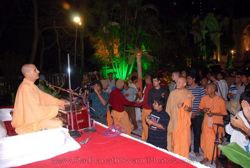 Radhanath Swami Lecture in Birla House