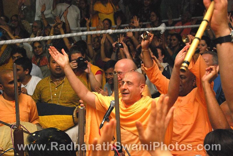 Radhanath Swami Singing