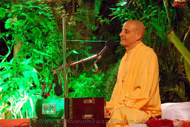 Radhanath Swami Smiling