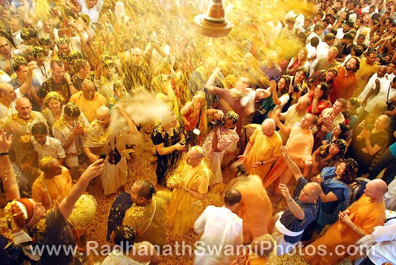 Radhanath Swami at Pusya Abhishek Festival
