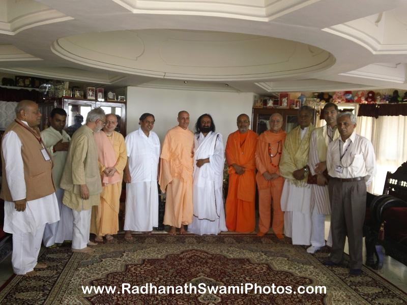Radhanath Swami in Yoga Conference