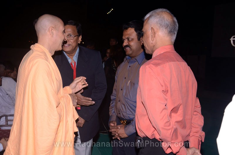 Radhanath Swami with CEO's of Top Companies