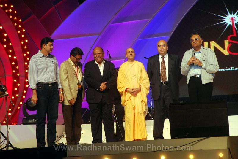 Radhanath Swami with Top CEOs