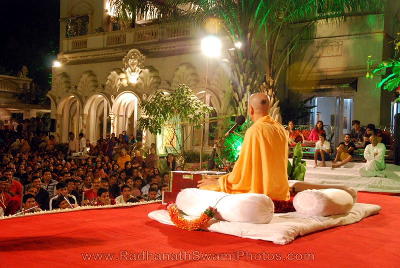 Radhanath Swami's Lecture at Birla House